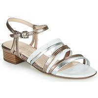 Schuhe Damen Sandalen / Sandaletten Peter Kaiser PATIA Bronze / Weiss