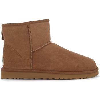 Schuhe Herren Boots UGG Tronchetto UGG Classic II Mini marrone in montone Braun