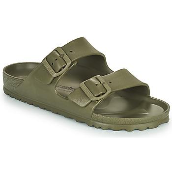 Schuhe Damen Pantoffel Birkenstock ARIZONA EVA Kaki