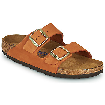 Schuhe Damen Pantoffel Birkenstock ARIZONA SFB Orange