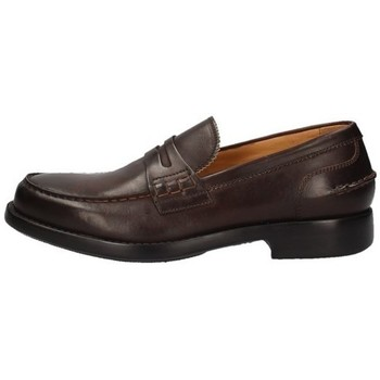 Schuhe Herren Slipper Campanile X165 BRAUN