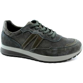 Schuhe Herren Sneaker Low IgI&CO IGI-I20-6137300-BL Blu