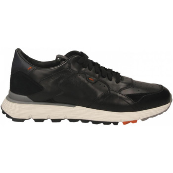 Schuhe Herren Sneaker Low Santoni FRANC. 7 FORI PELLE WYATT nero
