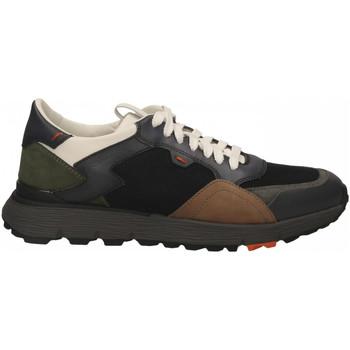 Schuhe Herren Sneaker Low Santoni REED-WSNN40 antracite-nero