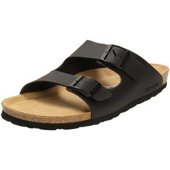 Schuhe Herren Pantoffel Rohde Offene 5921/90 schwarz