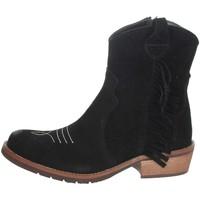 Schuhe Mädchen Boots Carrots TX185 Schwarz
