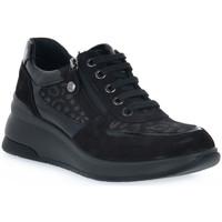 Schuhe Damen Sneaker Low Enval LEOL NERO Nero