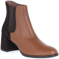 Schuhe Damen Low Boots Priv Lab VITELLO CUOIO Marrone