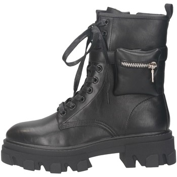 Schuhe Damen Low Boots Exé Shoes RG2282 SCHWARZ