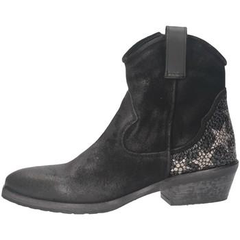 Schuhe Damen Low Boots Metisse TEX28 Texano Frau SCHWARZ SCHWARZ