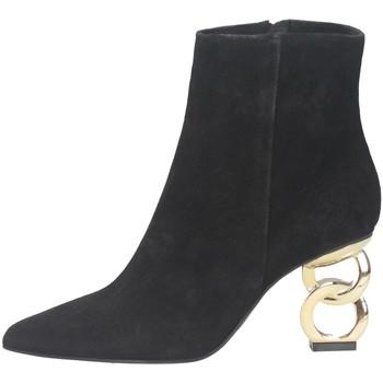 Schuhe Damen Low Boots Tsakiris Mallas 819 DIVA 6-0 Stiefeletten Frau SCHWARZ SCHWARZ