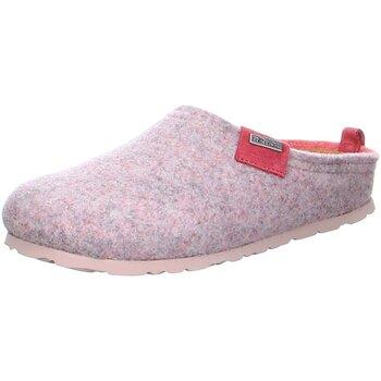 Schuhe Damen Hausschuhe Rohde Napoli Wechselfußbett Rose 680044 rosa