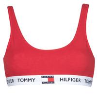 Unterwäsche Damen Sport-BH Tommy Hilfiger BRALETTE Rot