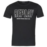 Kleidung Herren T-Shirts Replay M3395-2660 Schwarz
