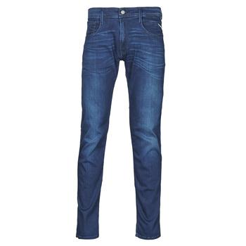 Kleidung Herren Slim Fit Jeans Replay ANBASS Pants Blau