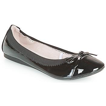 Schuhe Damen Ballerinas Moony Mood ELALA Schwarz