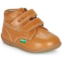Schuhe Jungen Sneaker High Kickers BILLY VELK-2 Camel
