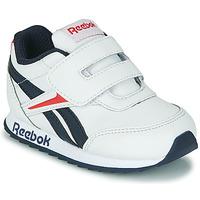 Schuhe Kinder Sneaker Low Reebok Classic REEBOK ROYAL CLJOG 2 KC Weiss / Marine / Rot
