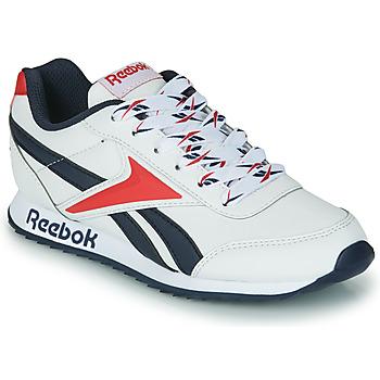 Schuhe Kinder Sneaker Low Reebok Classic REEBOK ROYAL CLJOG 2 Weiss / Marine / Rot