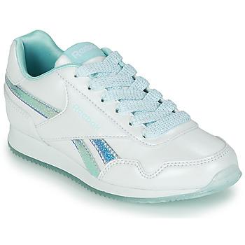 Schuhe Mädchen Sneaker Low Reebok Classic REEBOK ROYAL CLJOG 3.0 Weiss / Blau