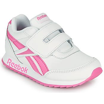 Schuhe Mädchen Sneaker Low Reebok Classic REEBOK ROYAL CLJOG 2 KC Weiss / Rose