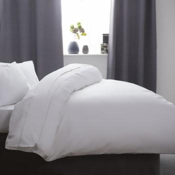 Home Bettbezug Belledorm Single BM123 Weiß