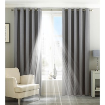 Home Vorhänge, Jalousien Riva Home Taille 6: 229 x 137cm Silber