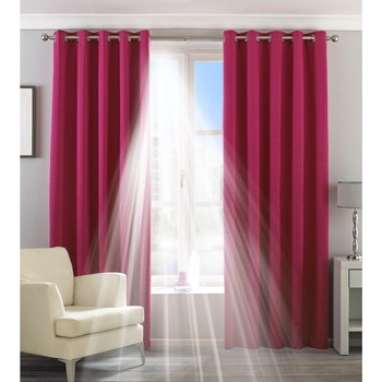 Home Vorhänge, Jalousien Riva Home Taille 6: 229 x 137cm Pink