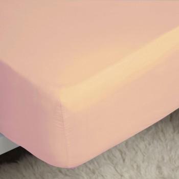 Home Spannbettlaken Belledorm Single Pink