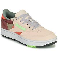 Schuhe Damen Sneaker Low Reebok Classic CLUB C DOUBLE Beige