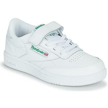 Schuhe Kinder Sneaker Low Reebok Classic CLUB C 1V Weiss