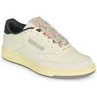 Schuhe Herren Sneaker Low Reebok Classic CLUB C 85 Beige / Schwarz