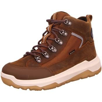 Schuhe Mädchen Wanderschuhe Superfit Bergschuhe Stiefelette Leder \ SPACE 1-000499-3000 braun