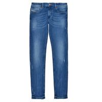 Kleidung Jungen Röhrenjeans Diesel SLEENKER Blau