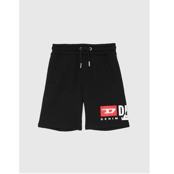 Kleidung Jungen Shorts / Bermudas Diesel PSHORTCUTY Schwarz