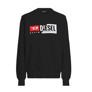 Kleidung Kinder Sweatshirts Diesel SGIRKCUTY Schwarz