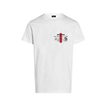 Kleidung Jungen T-Shirts Diesel TDIEGOS Weiss