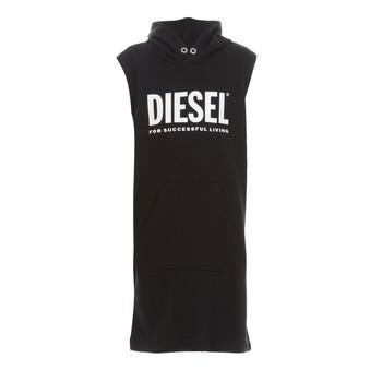 Kleidung Mädchen Kurze Kleider Diesel DILSET Schwarz