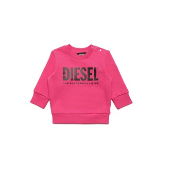 Kleidung Mädchen Sweatshirts Diesel SCREWDIVISION LOGOB Rose