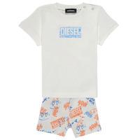 Kleidung Jungen Kleider & Outfits Diesel SILLIN Multicolor