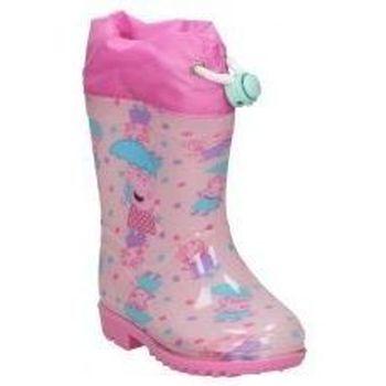 Schuhe Mädchen Gummistiefel Cerda BOTAS DE AGUA  4449 PEPA PIG  NIÑA ROSA Rose