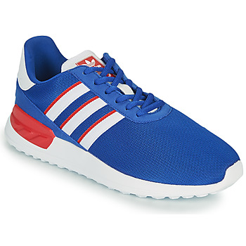 Schuhe Kinder Sneaker Low adidas Originals LA TRAINER LITE J Blau / Weiss