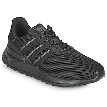 Schuhe Kinder Sneaker Low adidas Originals LA TRAINER LITE J Schwarz
