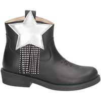 Schuhe Mädchen Low Boots Florens J1420CAM Texano Kind SCHWARZ SCHWARZ