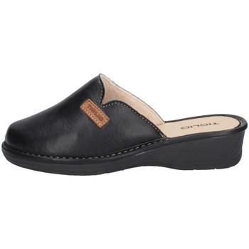 Schuhe Damen Pantoletten / Clogs Tiglio 1608 SCHWARZ