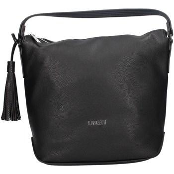 Taschen Damen Umhängetaschen Lancetti LB0054HO3 SCHWARZ