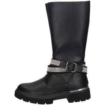 Schuhe Mädchen Klassische Stiefel Asso AG-9251 SCHWARZ