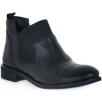 Schuhe Damen Boots Priv Lab NERO RAG Nero