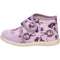 Schuhe Jungen Sneaker High Ciciban - Pantofola lilla 60450 JULIA LILLA