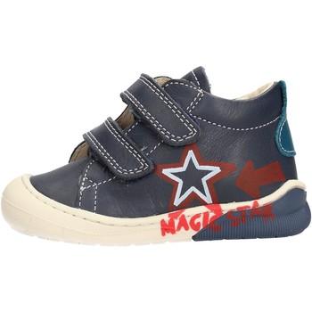 Schuhe Jungen Sneaker High Naturino - Polacchino blu CICO VL-2C05 BLU